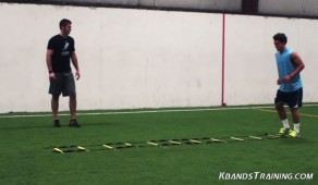 Soccer conditioning drill