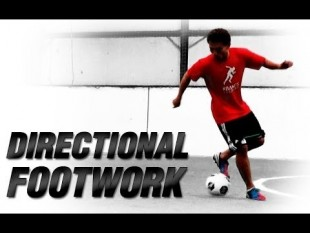 Soccer directional footwork