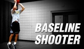 Baseline shooter drill
