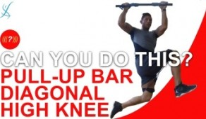 Kinetic-BANDS  Pull-up Bar Diagonal High Knee
