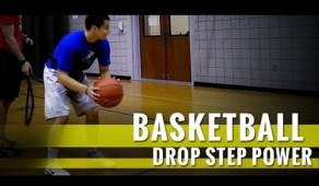Drop step power dribble